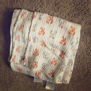 Aden and Anais Fox swaddle